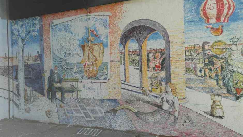 Nakon plja ke poklon be o na zabjelskom muralu cdm for Mural u vukovarskoj ulici