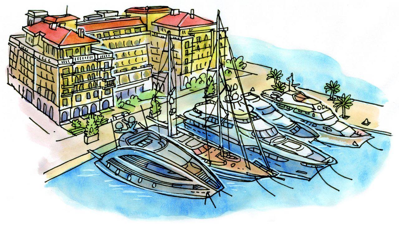 Porto Montenegro Karte.La Parisien Montenegro Is A New Monaco Cdm