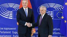 Đukanović i Tajani (Foto: predsjednik CG)