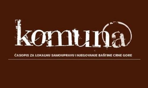Časopis Komuna Raspisao Konkurs Za Godišnju Nagradu