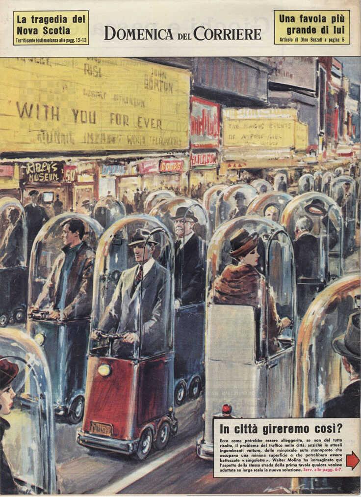 ČLANAK IZ 1962. GODINE: Hoćemo li ovako putovati gradom?
