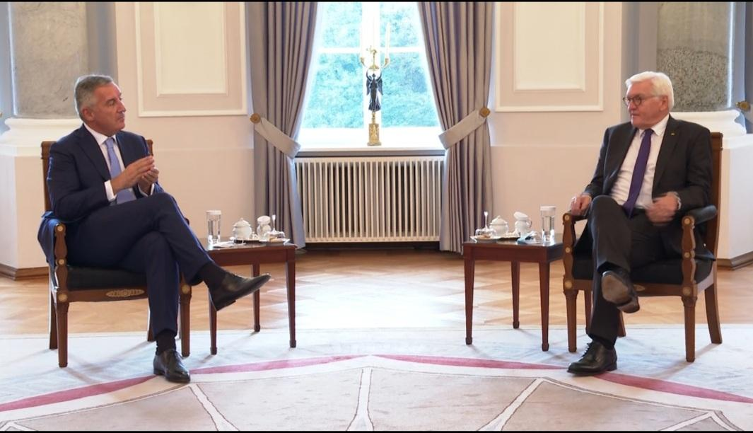 Đukanović: Steinmeier praises Montenegro's role as promoter of European values - CdM
