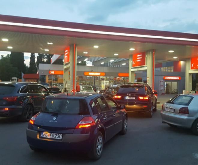 Benzinska pump u Podgorici